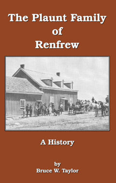 Plaunt Family of Renfrew -Kindle