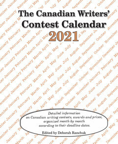 Canadian Writers' Contest Calendar 2021