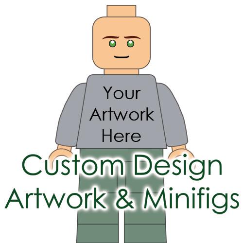 Custom Design Artwork & Minifigures