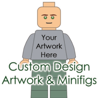Custom Design Artwork & Minifigures