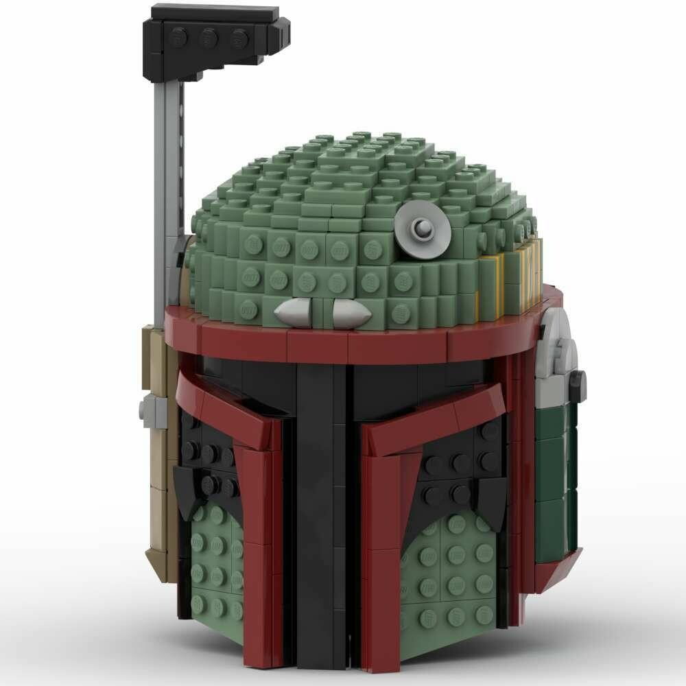 Star Wars™ Inspired Boba Fett™ Helmet - INSTRUCTIONS ONLY