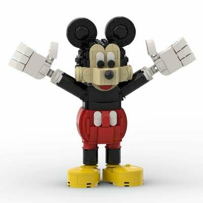 Mickey Mouse™ - INSTRUCTIONS ONLY