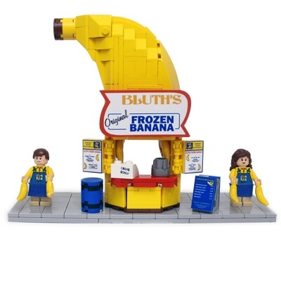 Instructions & Stickers for Arrested Development® Inspired Banana Stand