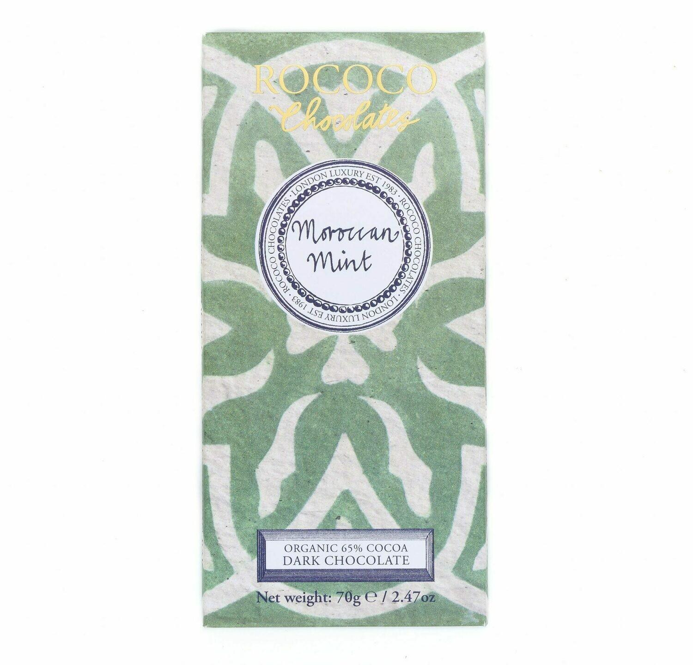 Rococo - Moroccan Mint Organic Dark Chocolate