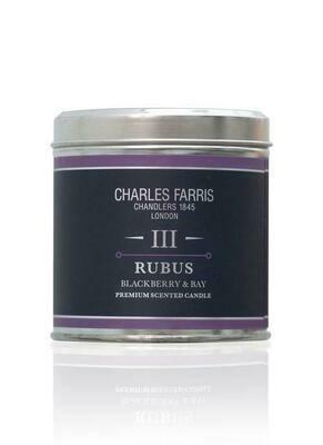 Tin - Rubus Candle