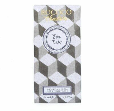 Rococo - Organic Sea Salt Dark Chocolate