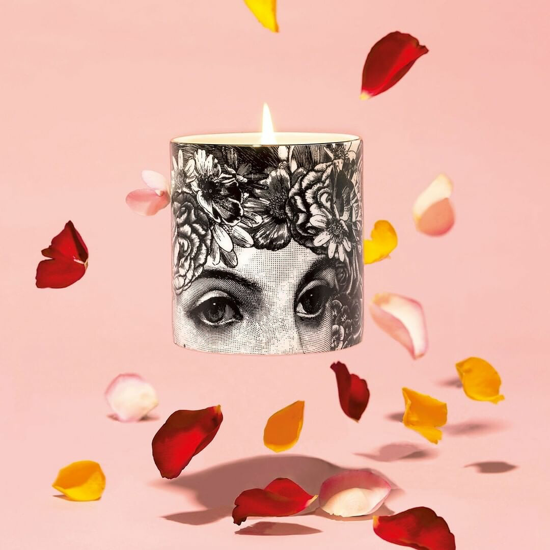 The Flower Lady Candle