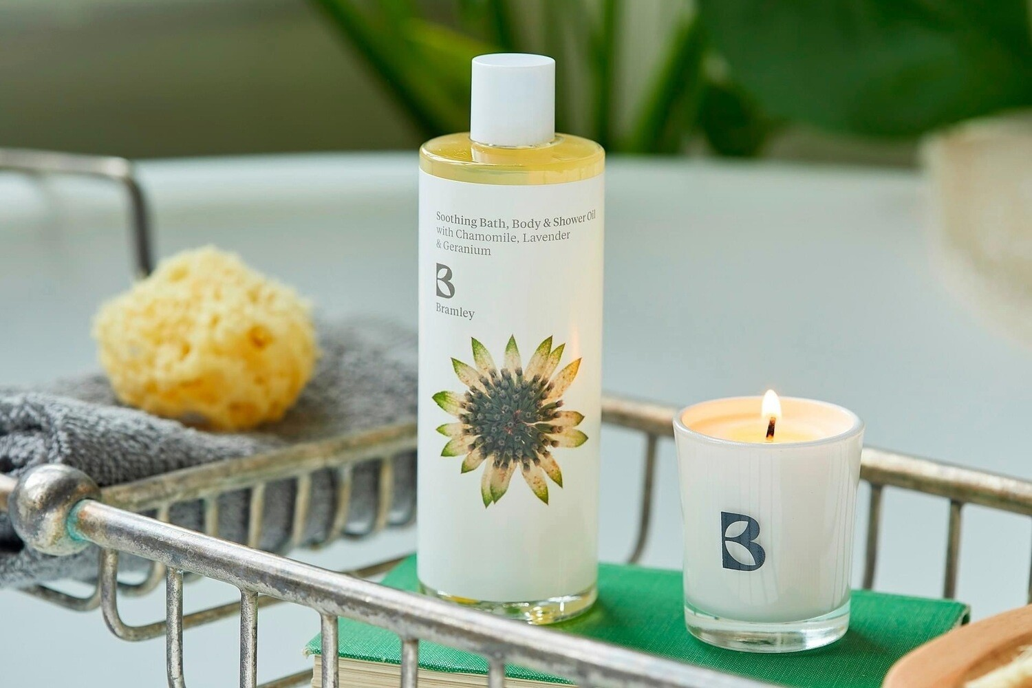Bramley Soothing Oil and Candle Gift Box