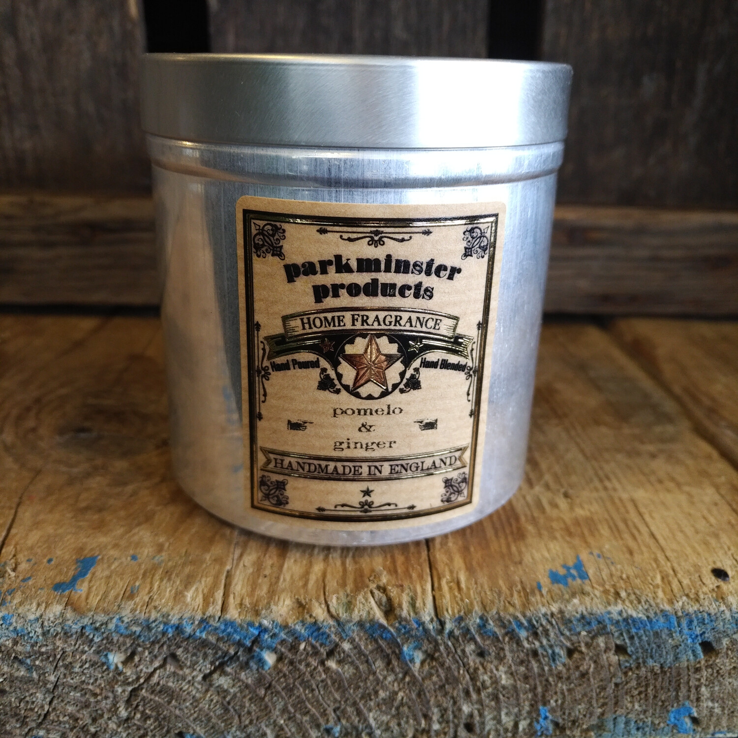 Tin - Pomelo & Ginger Candle
