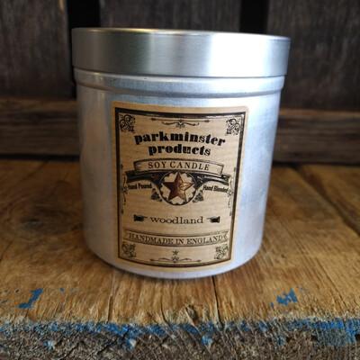 Tin - Woodland Candle