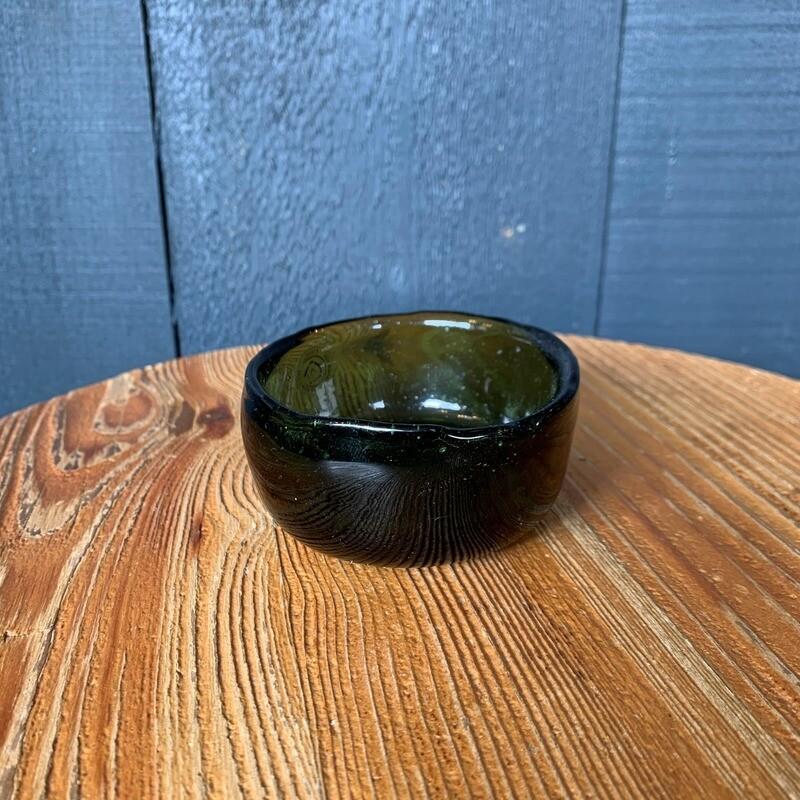 Emerald Glass Bowl Small