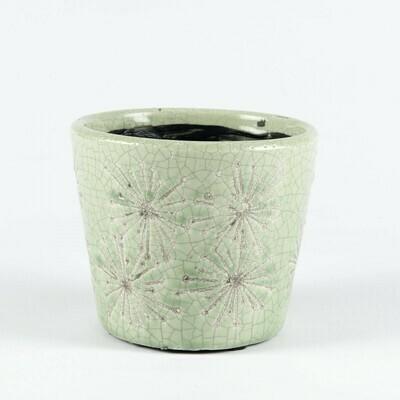 Green Botanical Pot