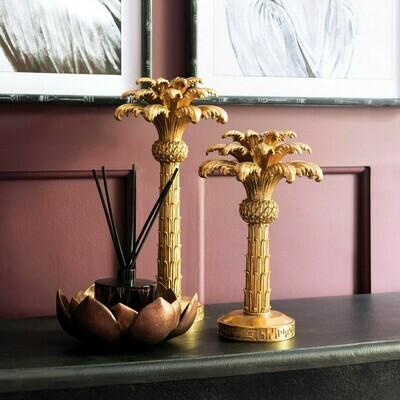 Palm Tree Candlestick