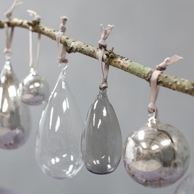 Teardrop Baubles