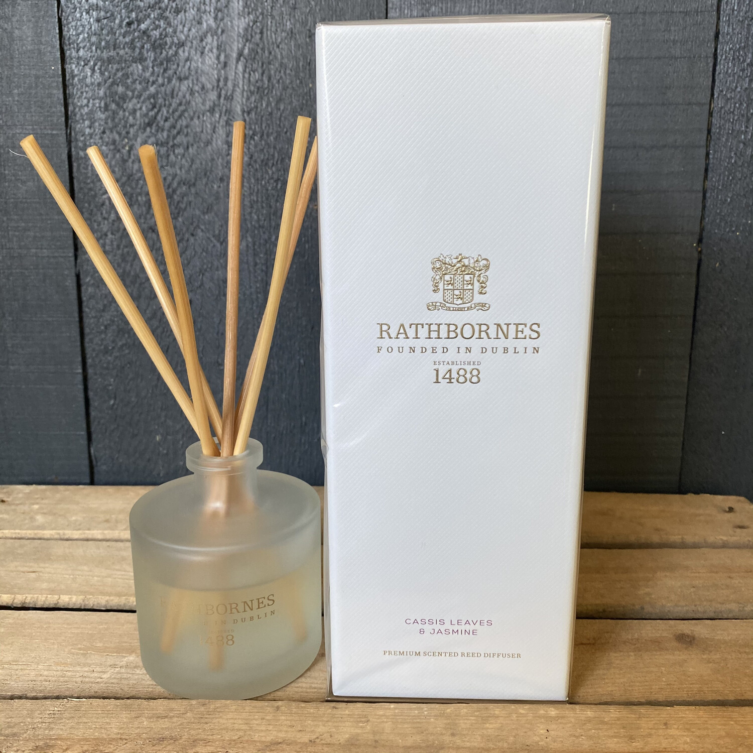 Reed Diffuser - Cassis Leaves & Jasmine