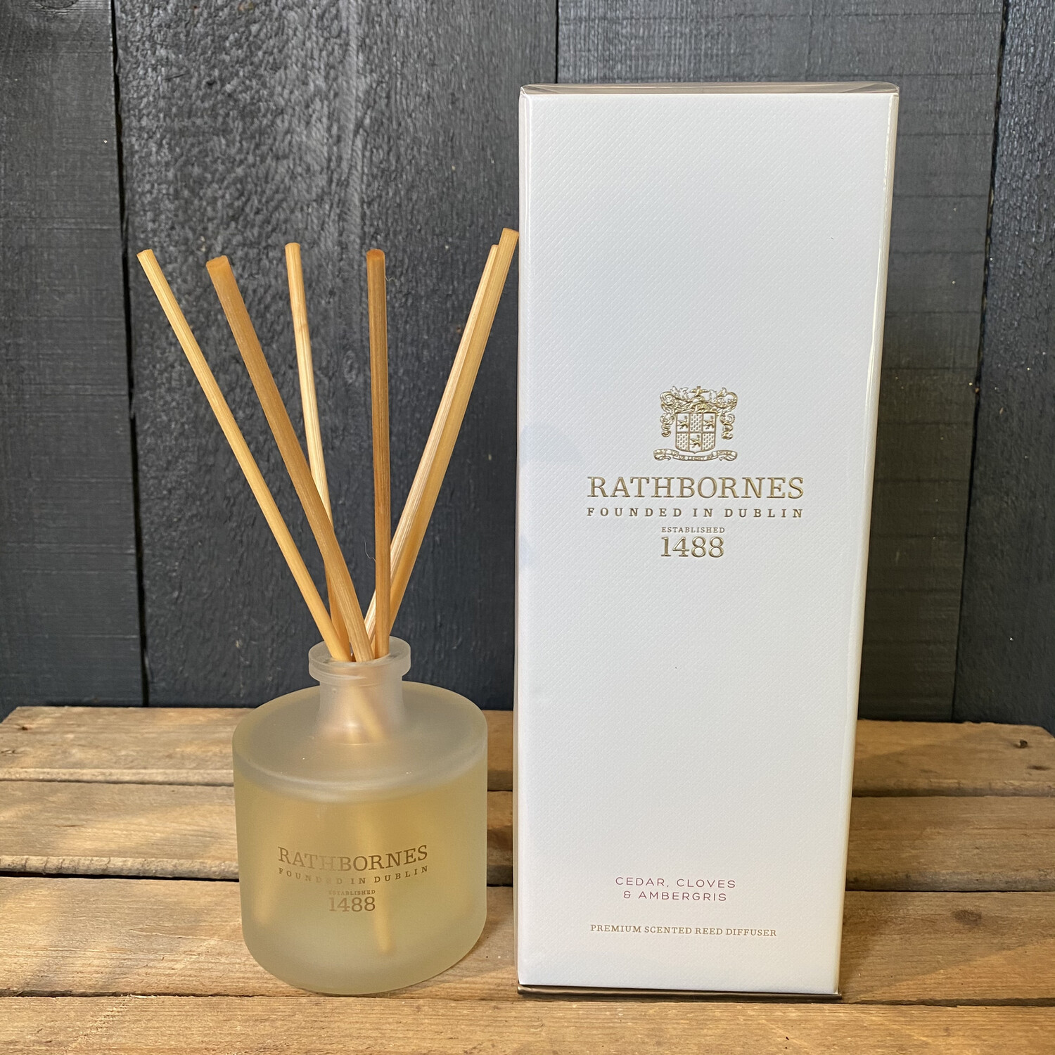 Reed Diffuser - Cedar, Cloves & Ambergris