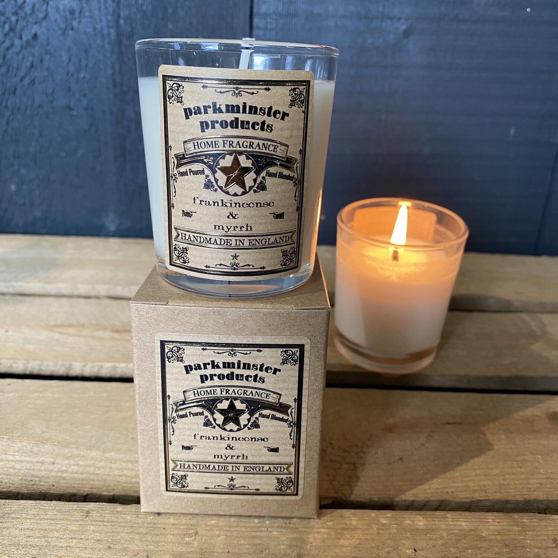 Votive - Frankincense & Myrrh Candle