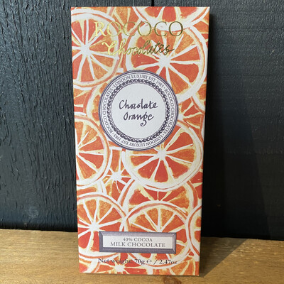 Rococo Orange Milk Chocolate