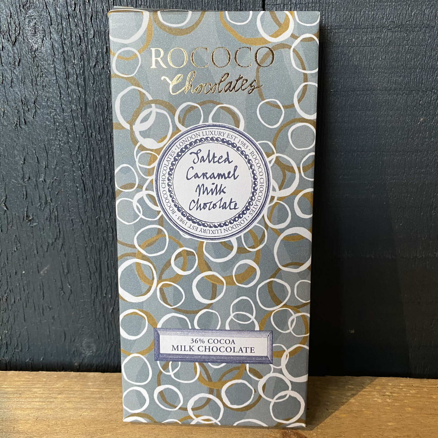 Rococo Salted Caramel Milk Chocolate