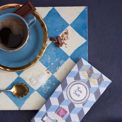 Rococo Sea Salt Organic Milk Chocolate