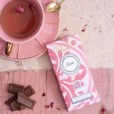 Rococo Rose Organic Milk Chocolate