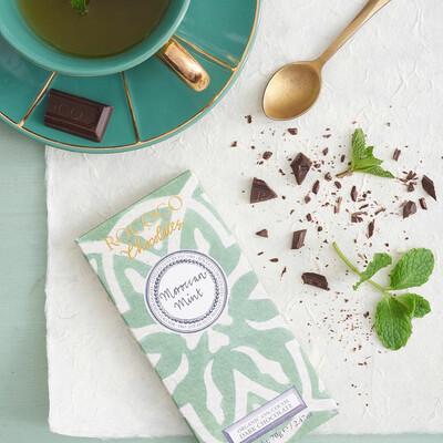 Rococo Moroccan Mint Organic Dark Chocolate