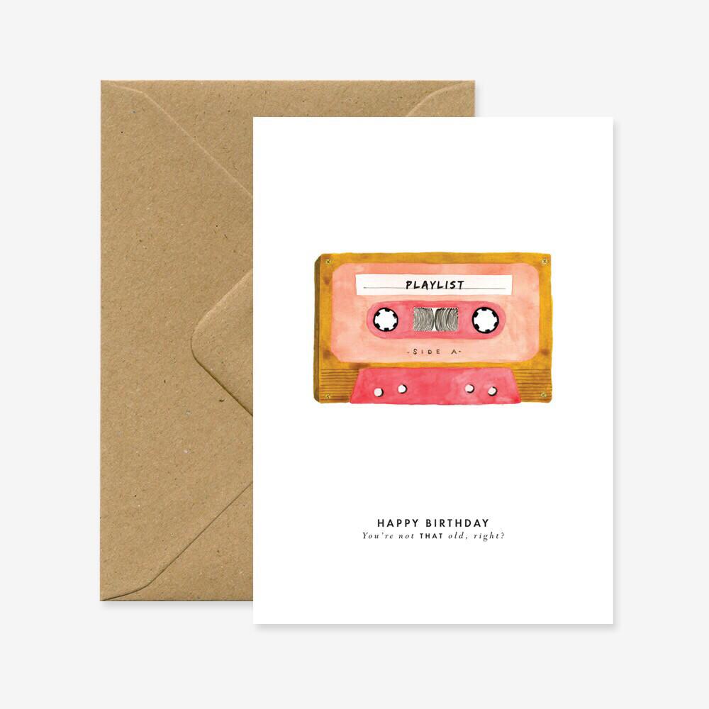 Birthday Tape