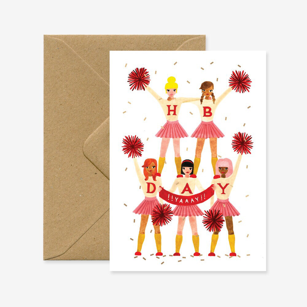 Cheerleaders Birthday