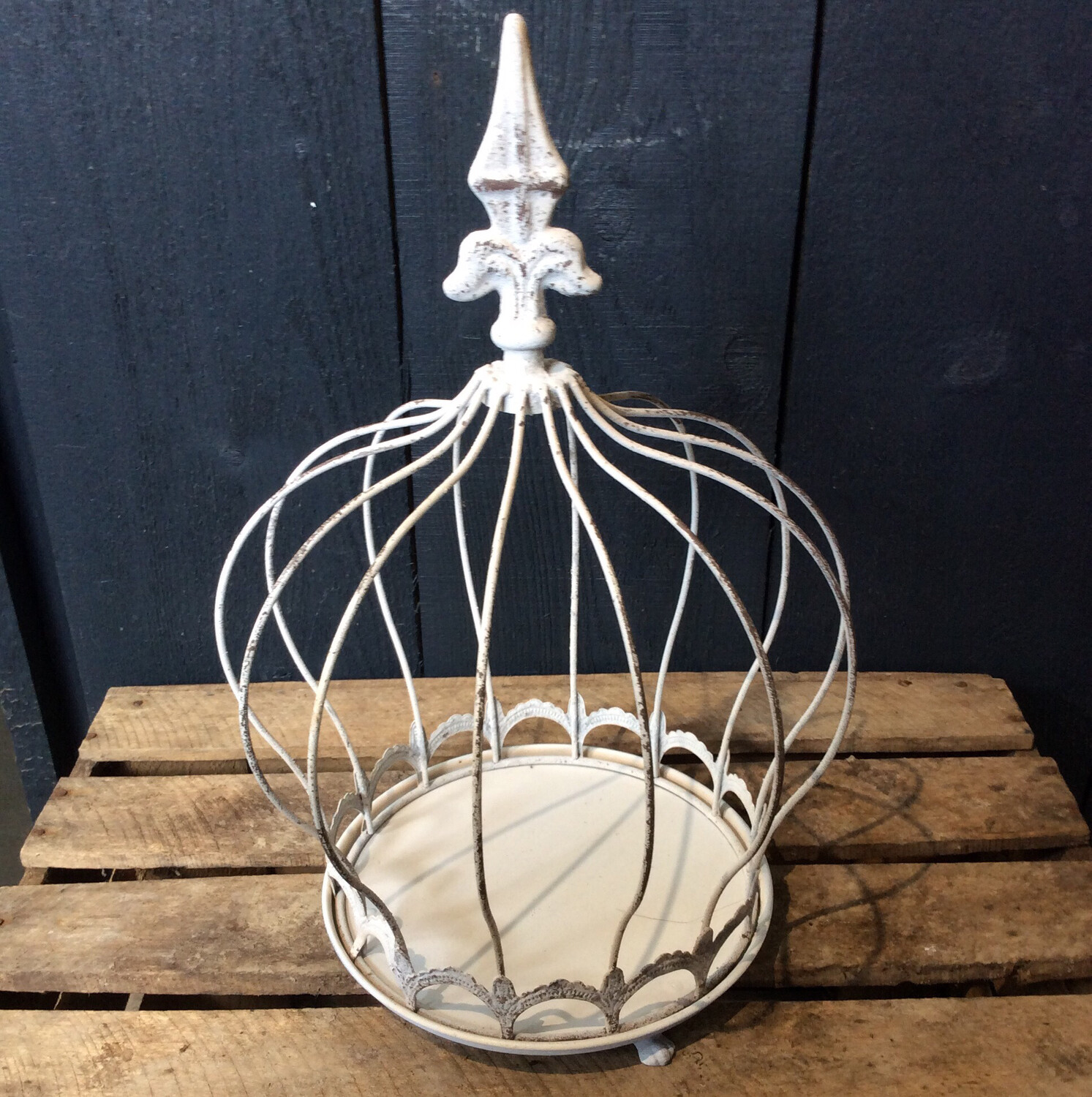 White Display Cage