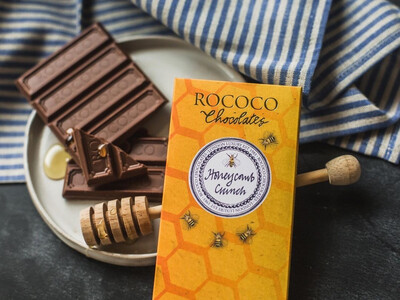 Rococo Honeycomb Crunch Milk Chocolate