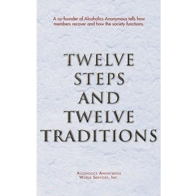 Twelve Steps and Twelve Traditions hard back - 1 case (20 books)