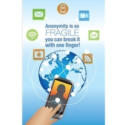 Anonymity Poster - Small