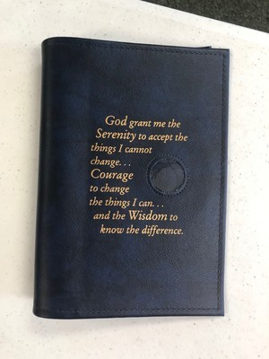 BB Book Cover - single with medallion holder
