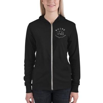 RCC Unisex zip hoodie