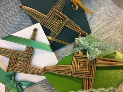 St Patrick's Day Gift Traditional Brigid's Cross