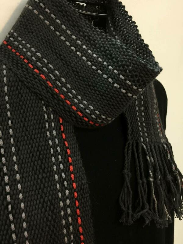 Fashionista 1-  Crios Scarf or Sash- Traditional Irish Handwoven Crios Style