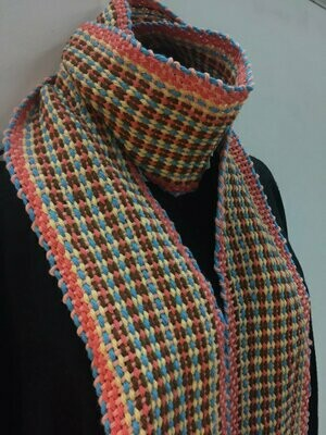Fiesta Crios Scarf or Sash- Traditional Irish Handwoven Crios Style