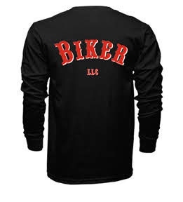 Biker LLC   Long Sleeve T-Shirt