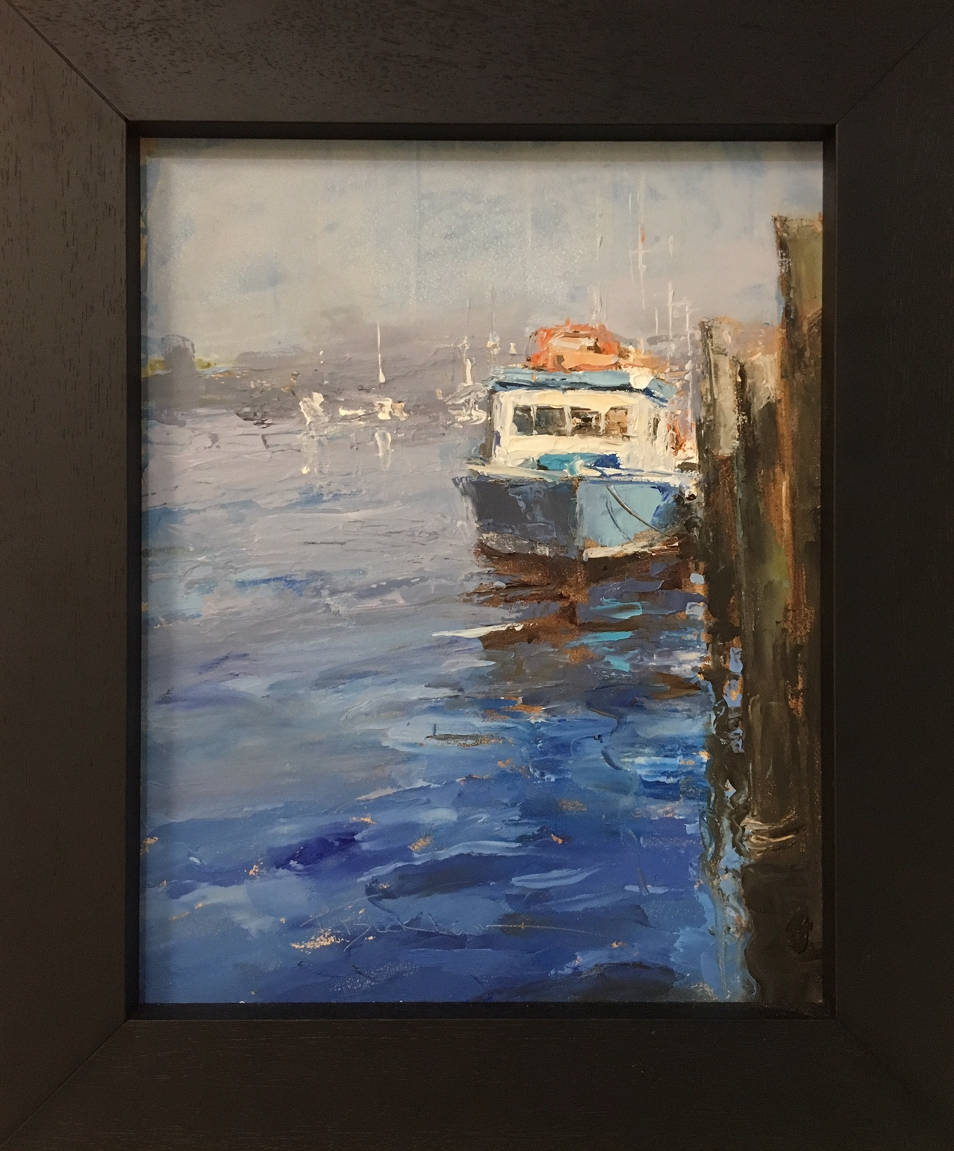 "Trish Beckham, ""Along the Waterfront"""