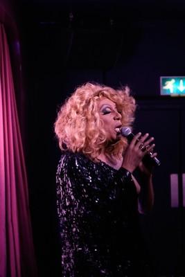 Sandra Singing Photo
