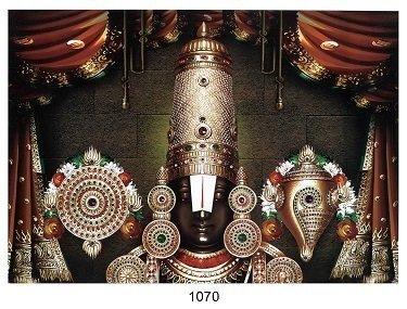 Lord Balaji - Matt Laminated Photo Frame