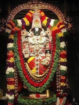 Lord Balaji - Matt Board Laminated Photo Frame
