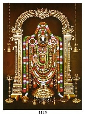 Lord Balaji - Matt Laminated Photo Frame
