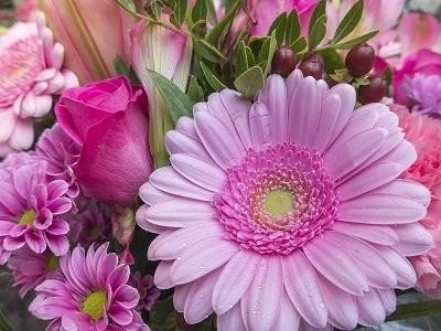 Flower Bouquet - Matt Laminated Photo Frame