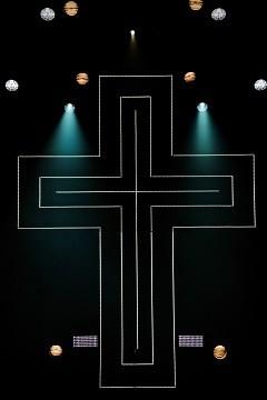 Sign of the Cross - Matt Laminated Photo Frame