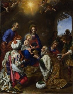 The Birth of Jesus Christ - Printed Art Copy with Frame