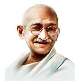 Mahatma Gandhi  Photo Frame