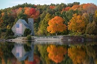Fall Colors - Matt Laminated Photo Frame