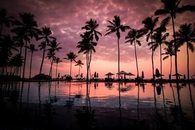 Sunset - Matt Laminated Photo Frame