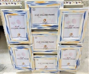 """Collage Photo Frames 6 """" x 4 """" Size of 7 sets (Upload your Photos here)"""